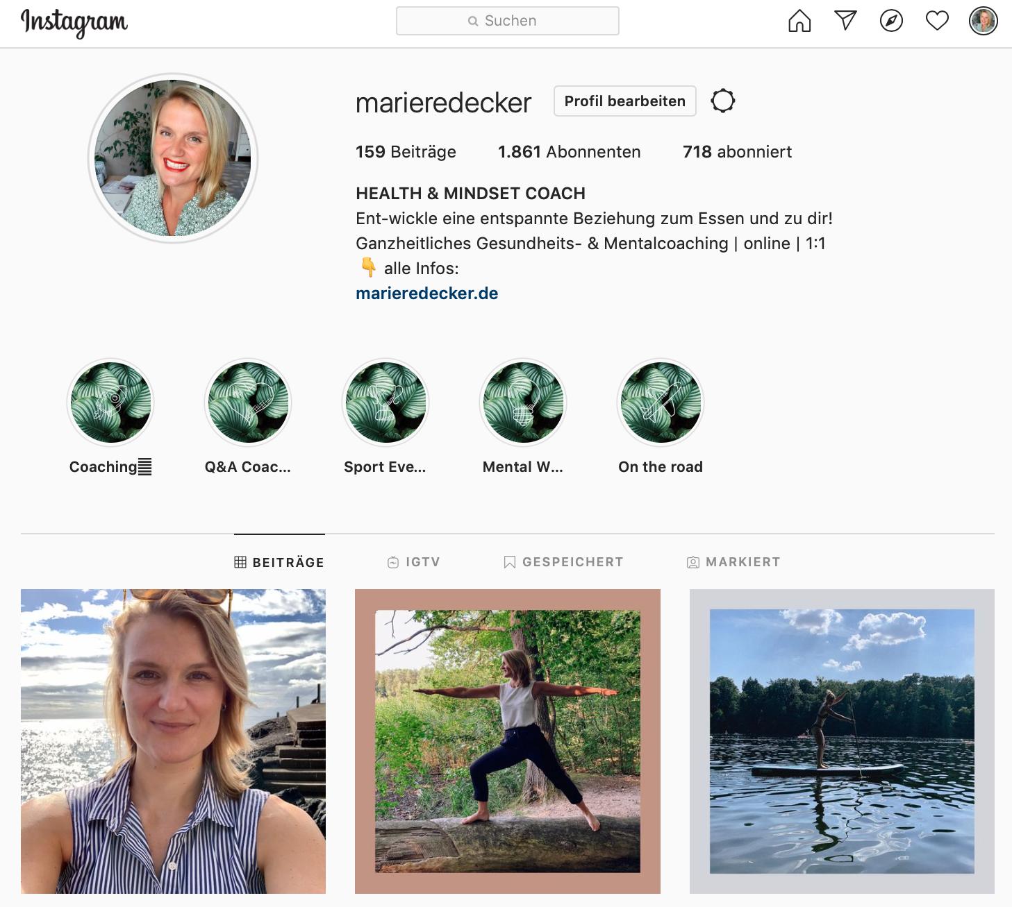 mindful eating Instagram